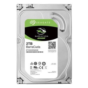 Seagate Barracuda ST2000DM008 2TB 3.5 Internal Hard Drive  SATA