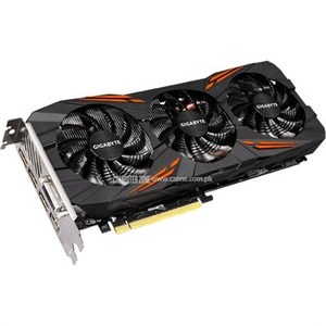 GIGABYTE GeForce GTX 1070 DirectX 12 GV-N1070G1 GAMING-8GD 8GB 256-Bit GDDR5 PCI Express 3.0 x16 ATX