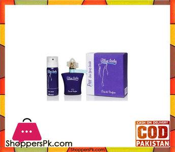 Blue Lady Perfume + Body Spray  40 ml