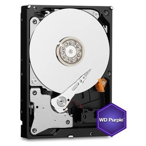 WD Purple 1TB Surveillance Hard Disk Drive  Intellipower SATA 6 Gb/s 64MB Cache 3.5 Inch  WD10PURZ