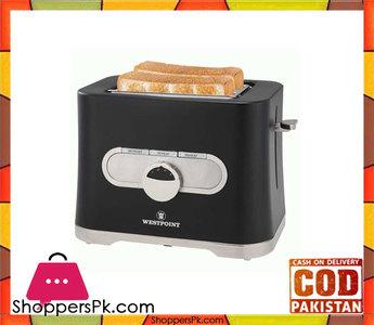 Westpoint WF-2553  2 Slice Toaster  Black