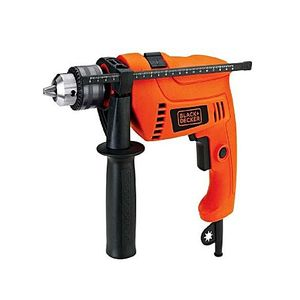 Black and Decker HD650K Drill Machine 13mm 650W Vari + Rev Kit box Black & Decker