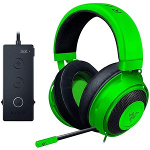 Razer Kraken TE Tournament Edition Gaming Headset  Green  RZ04-02051100-R3M1  For PC, PS4, Xbox One, Switch, & Mobile Devices