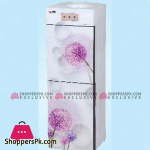 Super Asia Water Dispenser with Refrigerator  (HC-37GD)