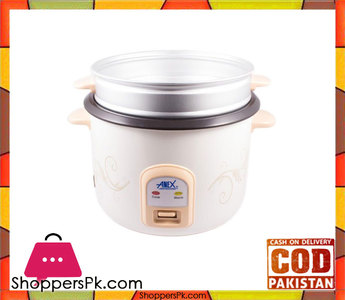Anex AG-2023  Deluxe Rice Cooker  White