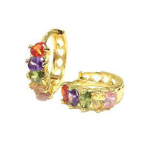 18K Gold Plated Half Bali Earring