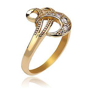 18-K Gold Plated Stylish Ring  12176