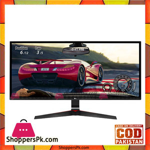LG 34UM69G-B 34 FreeSync IPS WFHD Ultrawide Gaming Monitor, 2560 x 1080, 21:9, 5ms, 250 cd/m2, HDMI, USB-C, DisplayPort, Tilt, Height Adjustable, VESA Mountable