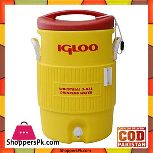 Igloo 400 Series 5 Gallon Water Drinks Cooler with Tap #00451