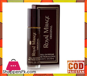 Royal Mirage  Original Roll On Perfume for Men  10 ml