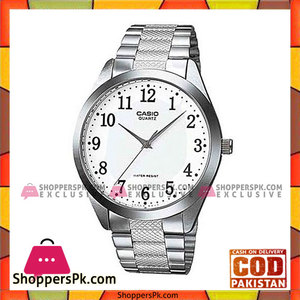 Casio Steel Analog Watch for Men