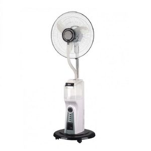 Lever 16 inch Rechargeable Water MIST Fan MB-6116 in White
