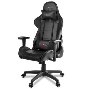 Arozzi Verona V2 Advanced Racing Style Gaming Chair with High Backrest, Recliner, Swivel, Tilt, Rocker and Seat Height Adjustment Black
