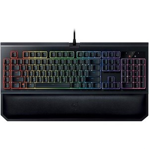 Razer BlackWidow Chroma V2 Mechanical Gaming Keyboard  RZ03-02030100-R3M1   Green Switches