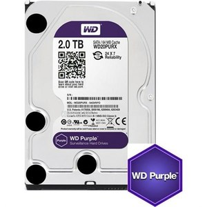 Western Digital  WD Purple WD20PURZ 2TB SATA 6.0Gb/s 3.5 Surveillance Hard Drive
