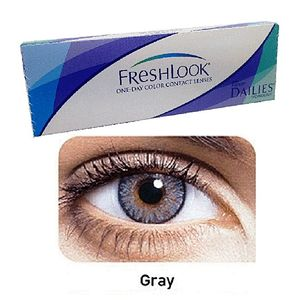 FreshLook Gray Color Contact Lenses with free Kit