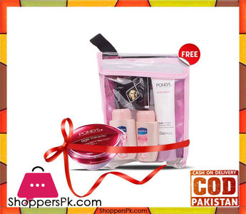 Ponds Free Beauty Bundle With Age Miracle Day Cream