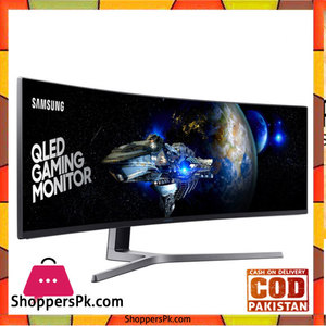 Samsung 49Inch Ultrawide WFHD 144hz QLED Gaming Monitor for the Ultimate Gaming Experience. Open Box #49CHG90