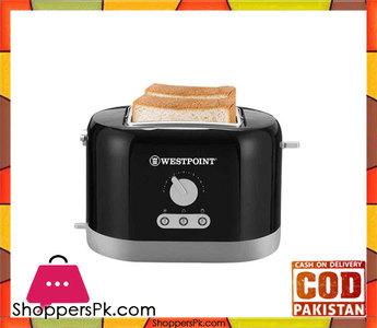 Westpoint WF-2538  2 Slice Toaster  Black