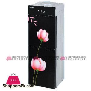 Super Asia Water Dispenser with Refrigerator  (HC-40GD)