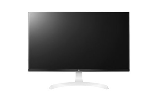 LG  27UD69P-W 27 IPS LED 4K UHD FreeSync Monitor  Black/white