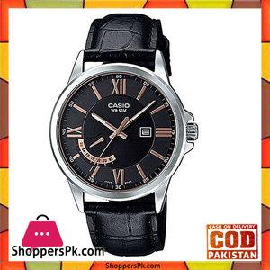 Casio Quartz Leather Watch For Men Mtp-E125l-1avdf