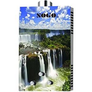 Sogo 8 LTR Global Series Waterfall Water Geyser