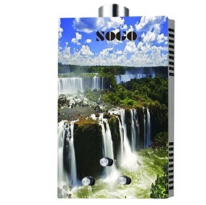 Sogo 6 LTR Global Series Waterfall Water Geyser