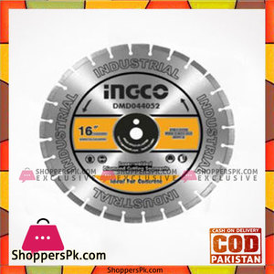 INGCO Diamond Disc for Concrete Cutting Laser Welded Rim  DMD044052