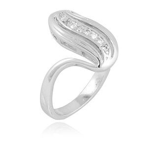18-K Gold Plated Rhodium Plated Ring JP-11003