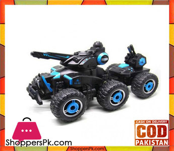 Military Fight Vehicle Water Spray Chariot RC Truck Car With 6 Wheels YED