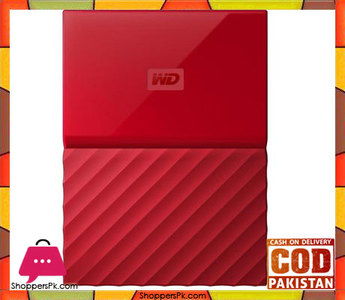 WD  My Passport 1TB External USB 3.0 Portable Hard Drive  Red (WDBYNN0010BRD)