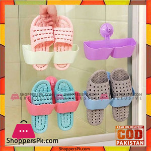 Bathroom Shoe Rack With Slippers