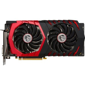 MSI NVIDIA GeForce GTX 1060 GAMING X BV 6GB GDDR5 PCI Express 3.0 Graphics Card  Black/Red