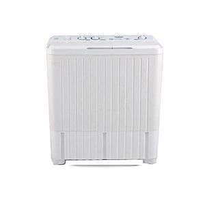 Haier HWM75AS Dual Tub Semi Automatic Washing Machine 7.5 kg White