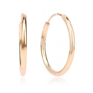 24-K Gold Plated Stylish Earrings - Golden