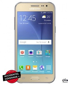 Samsung Galaxy J2 - 4.7 - 8GB - 1GB RAM - 5MP - Gold