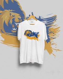 Karachi king Graphic Printed T-Shirt - White