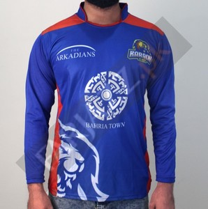 Karachi king Graphic Printed T-Shirt - Blue