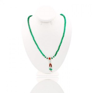Beads Necklace For Women  - Green