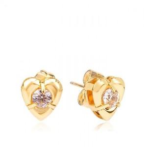 18-K Gold Plated Earrings Earring - Golden
