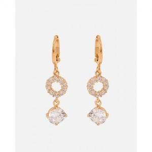 18-K Gold Plated Earrings - Golden