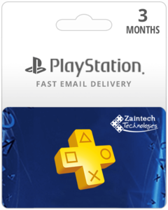 3 Months Playstation Plus Membership US Region Gift Card - Digital Code