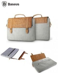 British Series Multipurpose Tablet  IPad  Laptop Bag - Brown And Grey