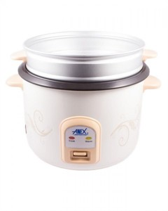 Deluxe Rice Cooker - White