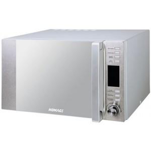 Microwave Oven - 34 Liter Capacity - 1000Watt - Silver