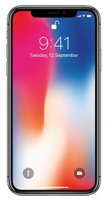 AppleiPhone X - 5.8 - 256GB - 3GB - 12 MP - Space Grey