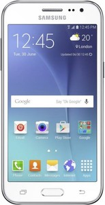 Samsung Galaxy J2 - 4.7 - 8GB - 1GB RAM - 5 MP  - White