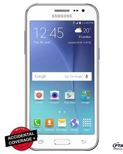 Samsung Galaxy J2 - J200H - 4.7 - 8 GB - Quadcore - LED Flash Light - White