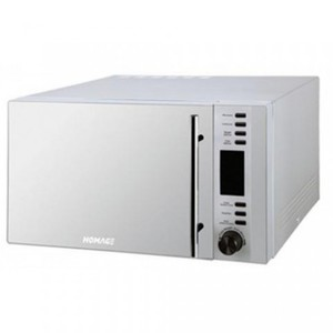 Microwave Oven With Grill - 900Watt Power - Silver